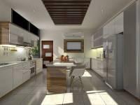 دانلود مدل سه بعدی آشپزخانه در اسکچاپ