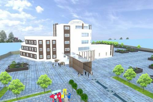 دانلود مدل سه بعدی هتل در اسکچاپ